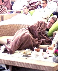 Do you remember Bastian under a blanket?