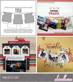paper: pretty paper. true stories. {and scrapbooking classes with cupcakes.}: What You've Been Making!