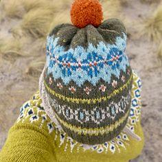 Ravelry: Kunibert's Autumn Aurora Hat