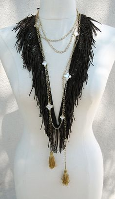 loveMaegan-Fringe Necklace-4 by ...love Maegan, via Flickr