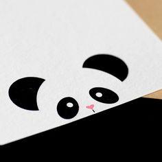 Peekaboo Panda Stationary