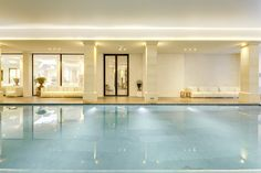 Piscine intérieure du Spa & Wellness Center Coquillade #spa #wellness #luxury #provence #luberon #relaischâteaux #pool #energy #mindandbody #therapy #cure #bodytreatments #dayspa