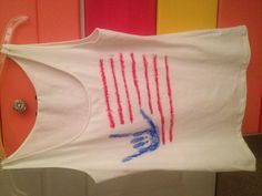 4th of July top! :)