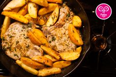 Pick up some apples while they're in season and cook up some Paleo Pork Chops and Apples in your cast iron skillet.