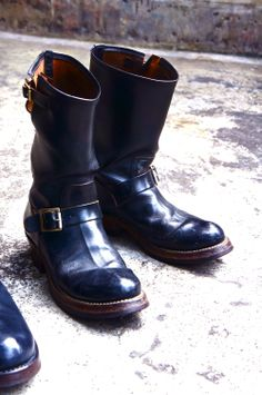 buco horsehide buttock engineer boots.