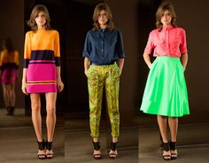 Chapurin Spring 2013 Lookbook.  I'm not a huge fan of the middle one, but I love the outer looks!