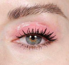Trucco glossy eyes effetto bagnato - Trucco Glossy Eyes rosa tenue