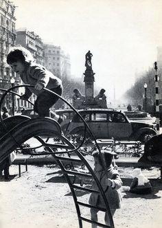 Barcelona, Pg Sant Joan 1960.
