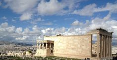 The Erechtheion at the Acropolis in Athens Photo by Stathis