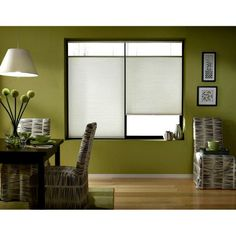 Cool 56-56.5-inch Cordless Top Down Bottom Up Cellular Shades (56W x 36H Cool )