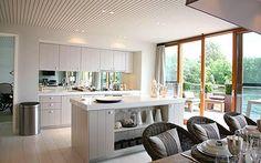 open plan kitchen - Google Search