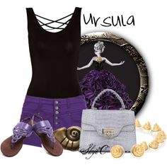 """""""Ursula - Summer - Disney's The Little Mermaid"""" by rubytyra on Polyvore"""