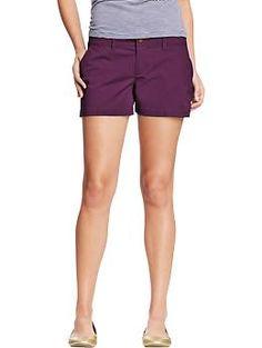 Womens Everyday Khaki Shorts from Old Navy (http://oldnavy.gap.com ...