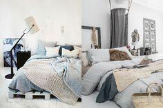 łóżko z palet białe - Szukaj w Google