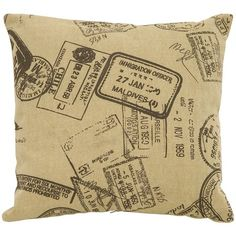 Voyage Pillow in Cream