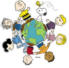 The world of Snoopy