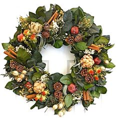 Holiday Twist Wreath