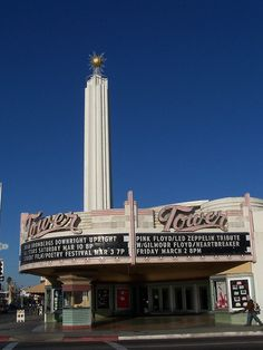 Tower Theater  Fresno, CA. Sweet 16 photos were taken out side here. Coolest place ever: tower district, Fresno ca.