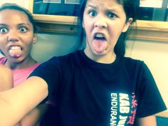 Haha we got done with volleyball and we just took random pics we took like 5 different ones lol