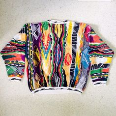 Ridiculous Rainbow Coogi Sweater Mon // Size Large by FengSway