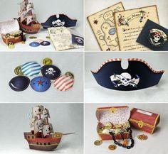 fiesta pirata1 DIY: Ideas para fiesta Pirata