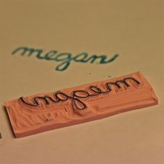 DIY craft stamp