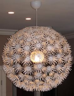 Yes finally a tutorial on customizing the dandelion chandelier kori remember the daisy light at ikea that i loved but it it was too aloadofball Choice Image