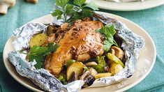 Baked Garlic Chicken Recipe | Yummy.ph