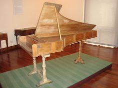 Cembalo col forte e piano Bartolomeo Cristofori 1722 (Roma museum)