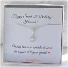 16th Birthday Gift For Her Sweet 16 Girl Sixteen Daughter Niece In 2019