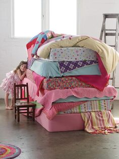 princess and the pea photo shoot - Google Search