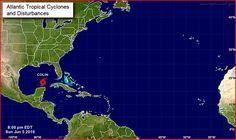 Advertencia meteorológica: depresión tropical avanza hacia la costa noroccidental de la Florida