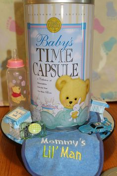 MUST HAVE Baby Shower Gift -- Baby's Time Capsule. Preserve your baby's first year of life mementos. Open 20 years later to reminisce. www.timecapsule.com
