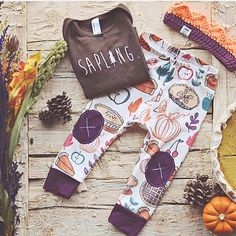 The cutest thanksgiving outfit!! Must have for fall!! www.alpinebabyco.com
