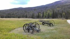 Pretty Autumn Day in Rocky Mountain National Park on a ranger-led tour of Historic Holzwarth's Ranch