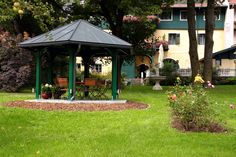 Unser Salettl Hotel Pacher Hotels, Gazebo, Outdoor Structures, Environment, Kiosk, Pavilion, Cabana