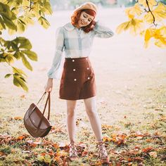 Paternoster Please! We absolutely love how Rebecca from @aclotheshorse has styled one of our favourite autumn arrivals, the Paternoster large tote.
