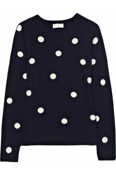 CHINTI AND PARKER  Polka-dot cashmere sweater