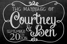 wedding chalkboard signs | Size: Select a size 8x10 inches inches 12x16 inches inches 18x24 ...