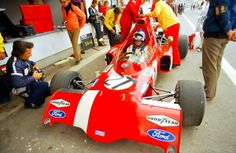 Ronnie Peterson, March-Ford 721X, Jarama, Spain, May 1, 1972. The very first race for this car.