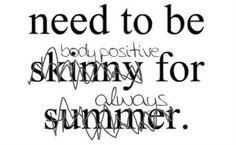 Exactly! Body Positive