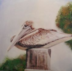 Aja original, pelican 2007: acrylic Fine Art, The Originals, Painting, Painting Art, Paintings, Painted Canvas, Drawings, Visual Arts