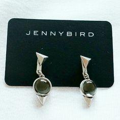 Jenny Bird Nova Backdrop Earrings Brand new never worn.  Sterling Silver First photo is true to color. Jenny Bird Jewelry Earrings