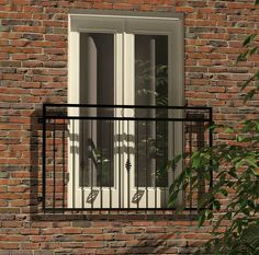 The Masham. A true classic. A timeless design that's sure to suit. The Masham is one of our best selling balconies and for good reason. The Masham Juliet Balcony offers superb design at an affordable price – no wonder it's popular! Glass Juliet Balcony, Juliette Balcony, French Balcony, Gate Design, Windows And Doors, Architecture Details, Timeless Design, Contemporary Design, Exterior