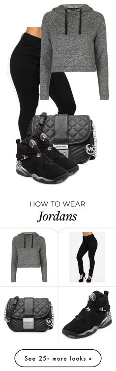 """""""Hola, Como Estas"""" by thelaurenn on Polyvore featuring Topshop, MICHAEL Michael Kors and NIKE #swagoutfits"""