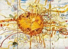 John Olsen, Sydney Sun (or King Sun) 1965 on The Spectator Australia Australian Painting, Australian Artists, Limited Edition Prints, Olsen, Art Reproductions, The Guardian, Contemporary Art, Abstract Art, Art Gallery