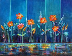 Flowers After Rain by Marlina Vera