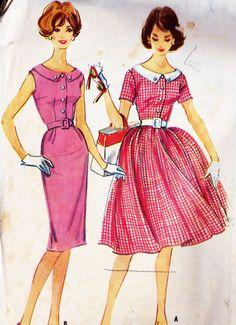 1960 Dress Vintage 5369 $12.00 Etsy.