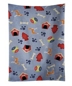 Dog House Collection Basenji Kitchen Towel BB4046KTWL