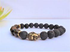mens yoga bracelet buddha bracelet mala bracelet men tibetan bracelet buddhist jewelry energy bracel Yoga Bracelet, Bracelet Men, Bracelet Sizes, Bracelets For Men, Beaded Bracelets, Custom Jewelry, Diy Jewelry, Yoga For Men, Gemstone Beads